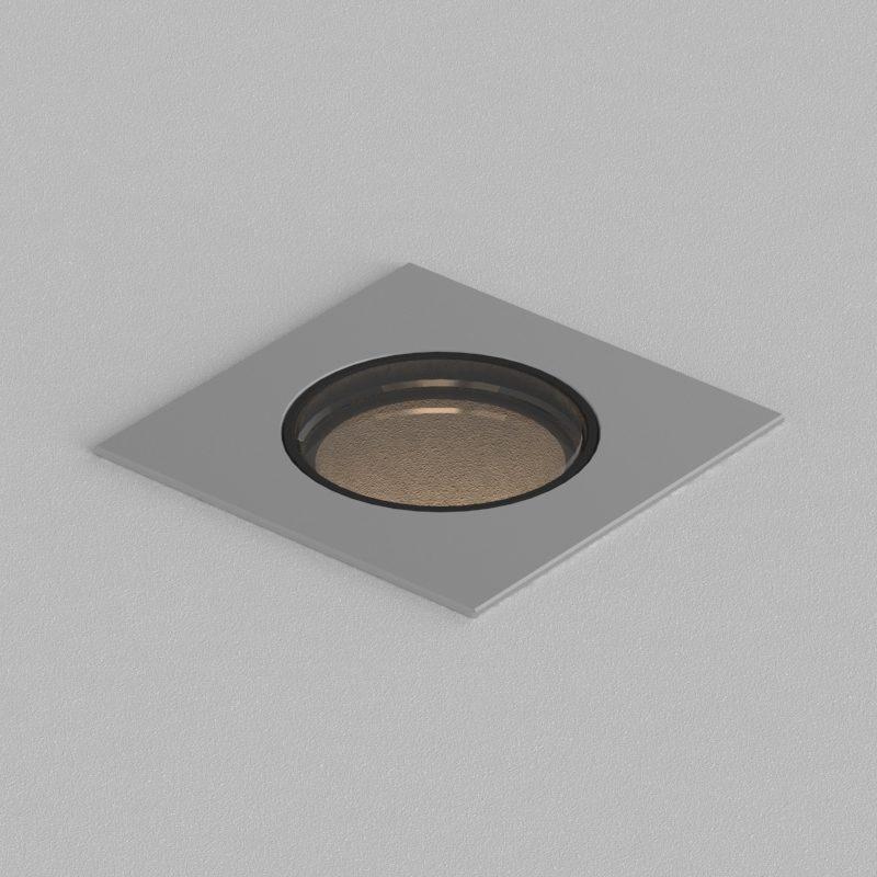 Orluna Cue In Ground Light Stainless Steel B