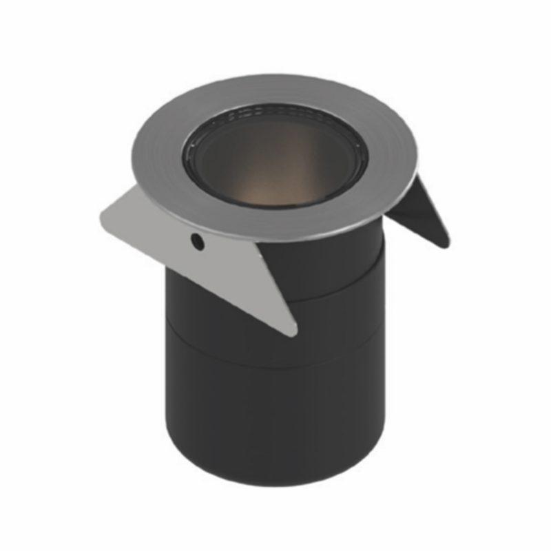 Orluna Roc In Ground Light Stainless Steel
