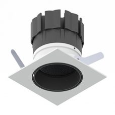 Orluna Detail Mini Square Tilt Rotate Downlight White