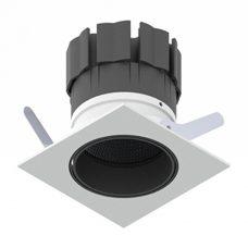 Orluna Detail Mini Square Tilt Rotate Downlight White