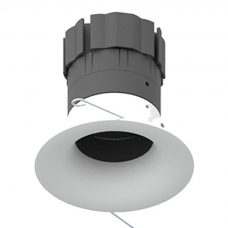 Orluna Curve Recessed Fixed Downlight White