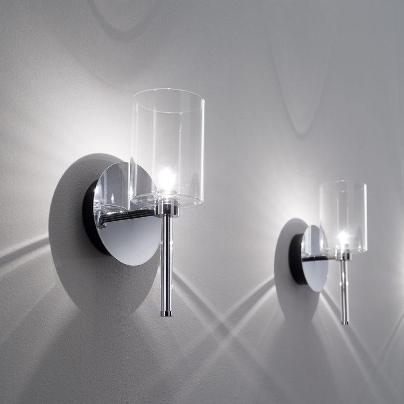 Axolight Spillray Wall Light Crystal C