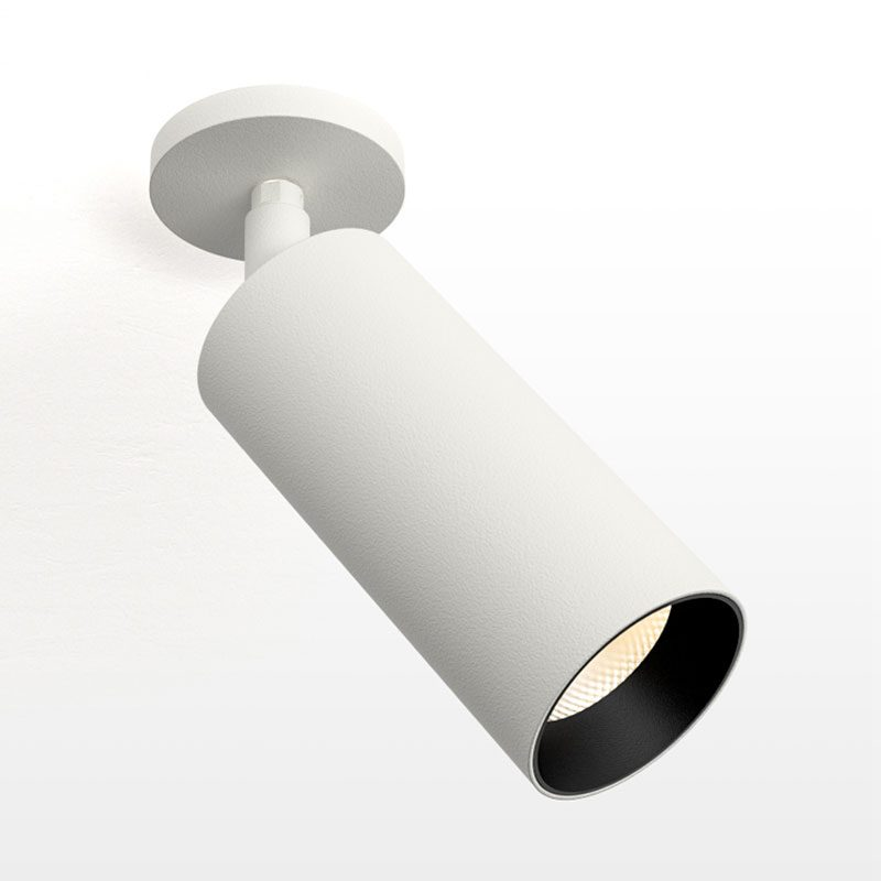 Orluna Air Adjustable Screwplate Spotlight White