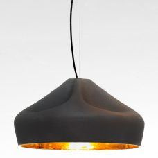 Marset Pleat Box 47 Pendant Light Grey Gold