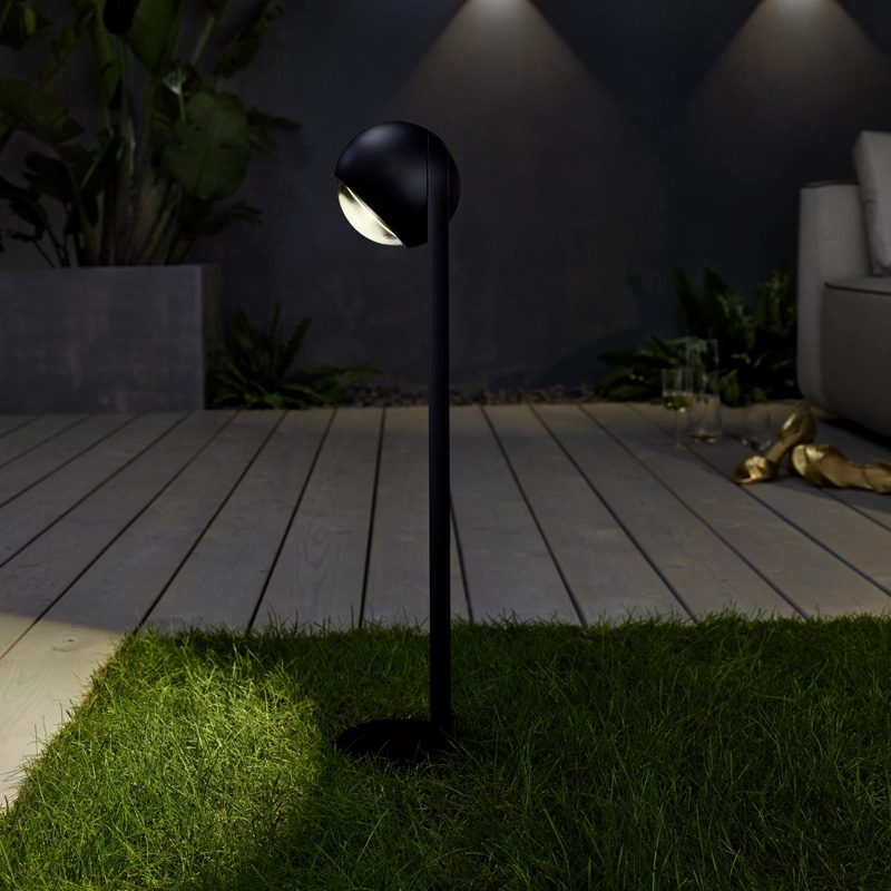 Sito Palo Floor Light Matt Black B