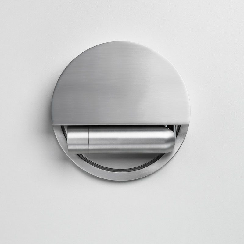 Marset Ledtube R Wall Light Silver C