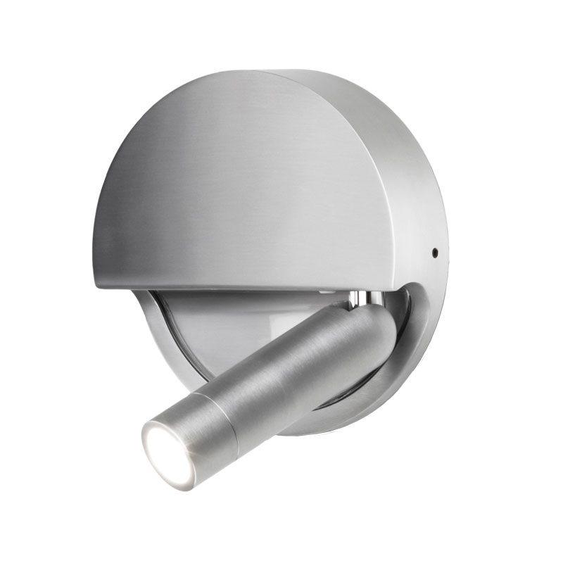 Marset Ledtube R Wall Light Silver