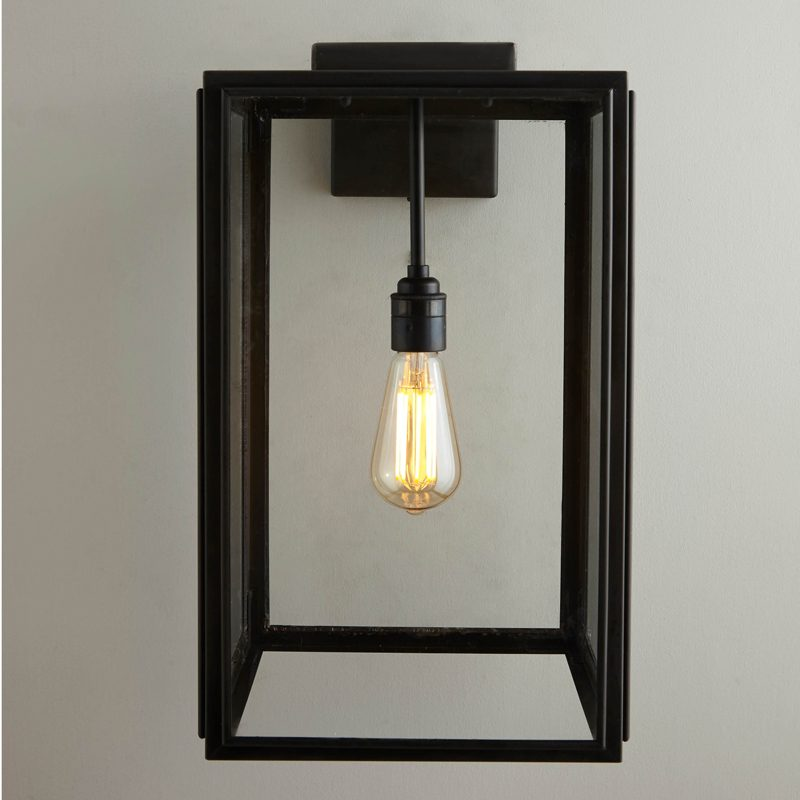 Davey Lighting Portico Wall Light Weathered Brass C