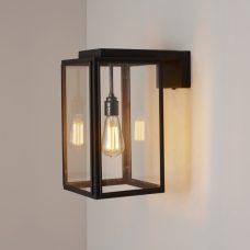Davey Lighting Portico Small Wall Light Weathered Brass B