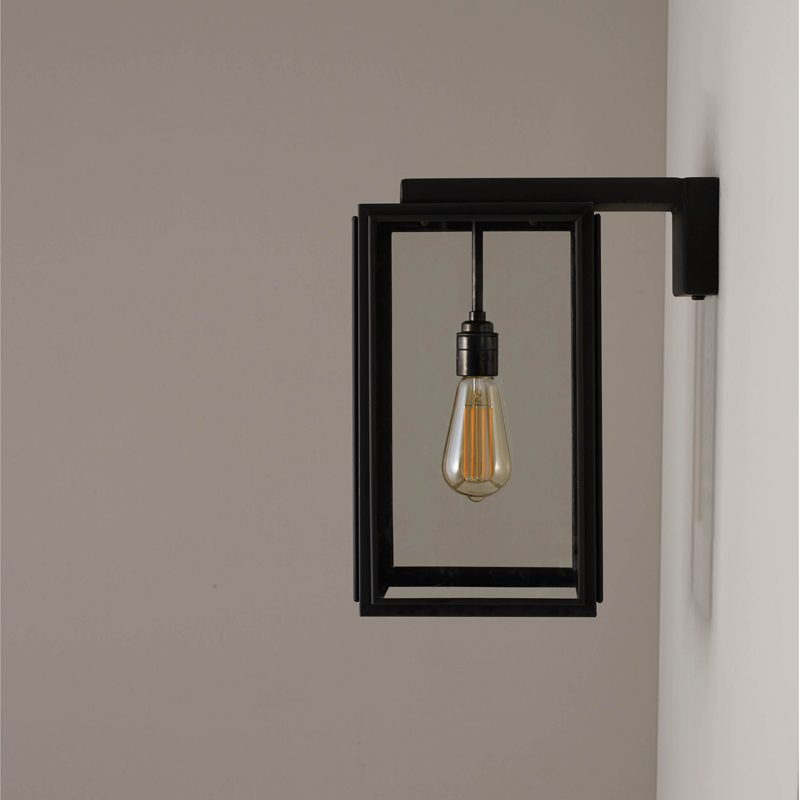 Davey Lighting Portico Small Wall Light Weathered Brass D