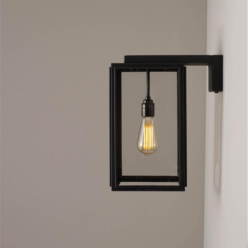 Davey Lighting Portico Small Wall Light Weathered Brass F