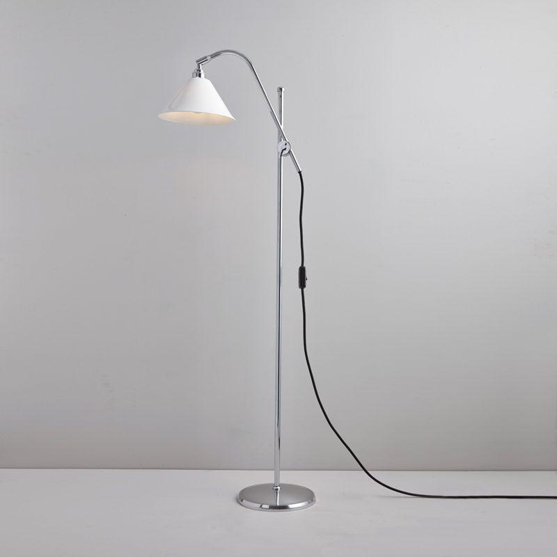 Original Btc Task Cermaic Floor Lamp White