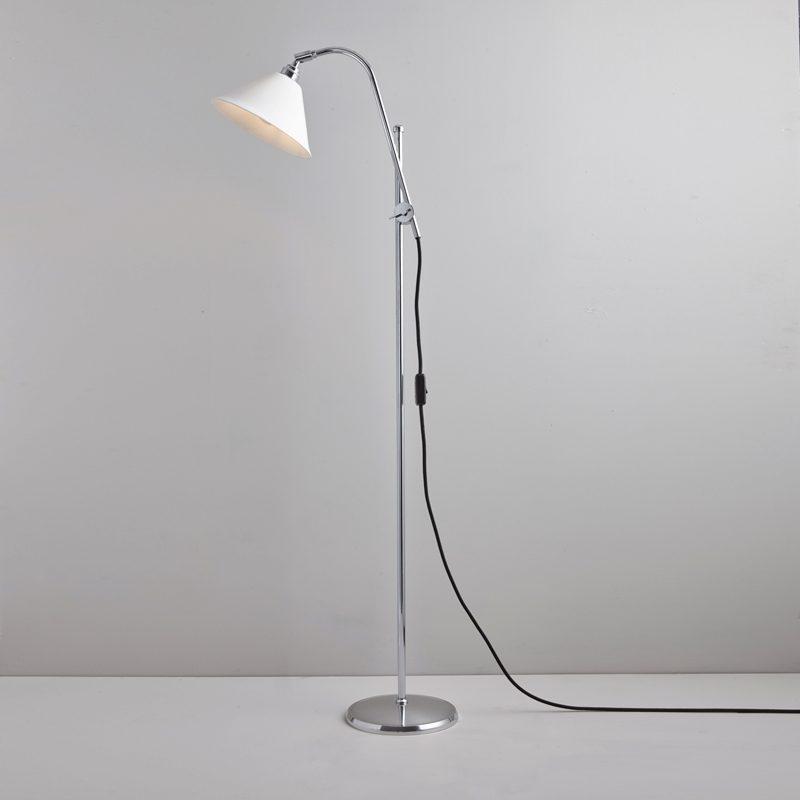 Original Btc Task Cermaic Floor Lamp White C