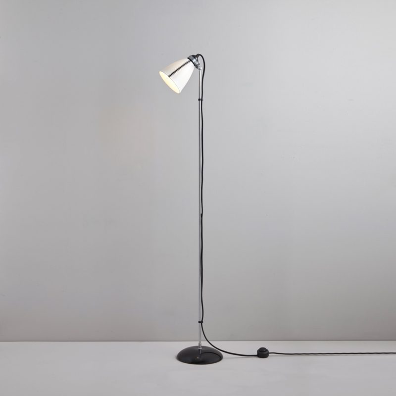 Original Btc Linear Floor Lamp Black And White