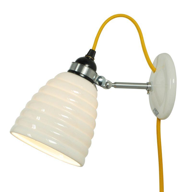 Original Btc Hector Bibendum Cabled Wall Light Yellow