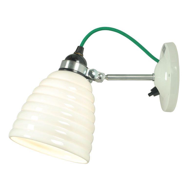 Original Btc Hector Bibendum Switched Wall Light Green