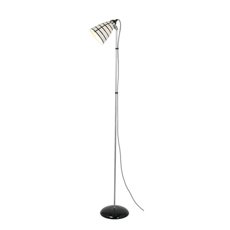 Original Btc Circle Line Floor Lamp Black And White