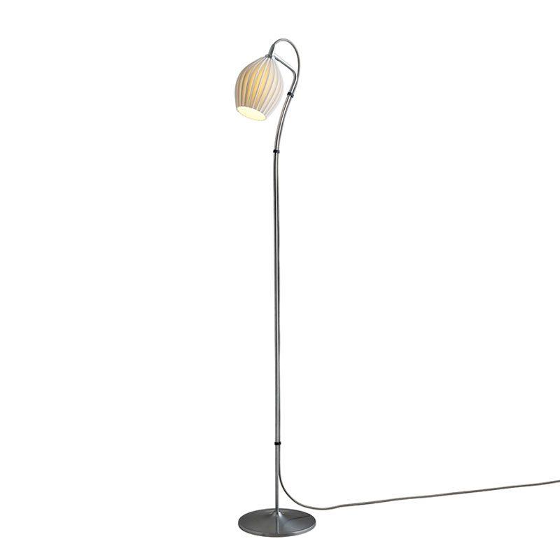 Original Btc Fin Floor Lamp Natural White