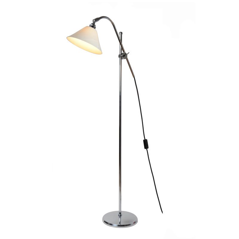 Original Btc Task Cermaic Floor Lamp Clear