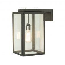 Davey Lighting Portico Small Wall Light Weathered Brass