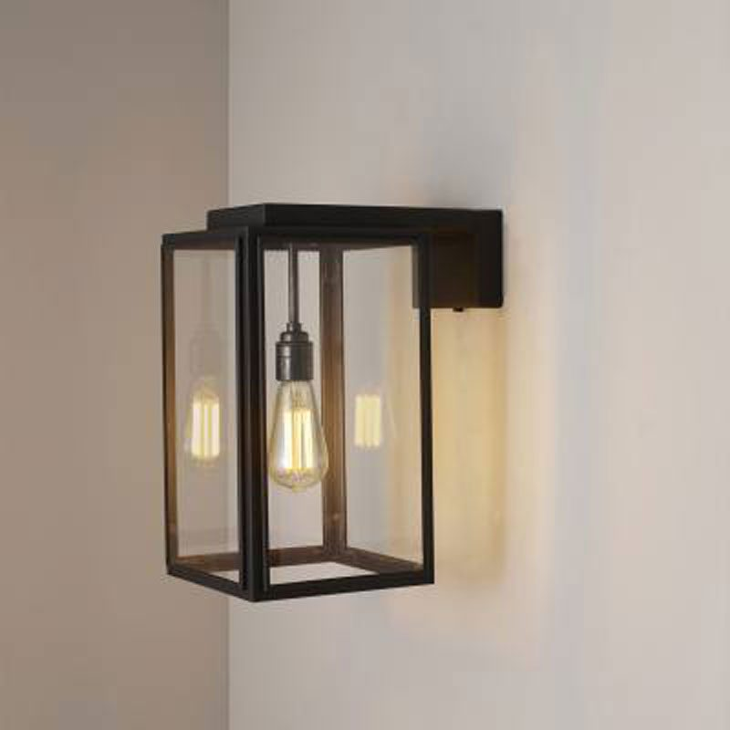 Davey Lighting Portico Small Wall Light Weathered Brass B