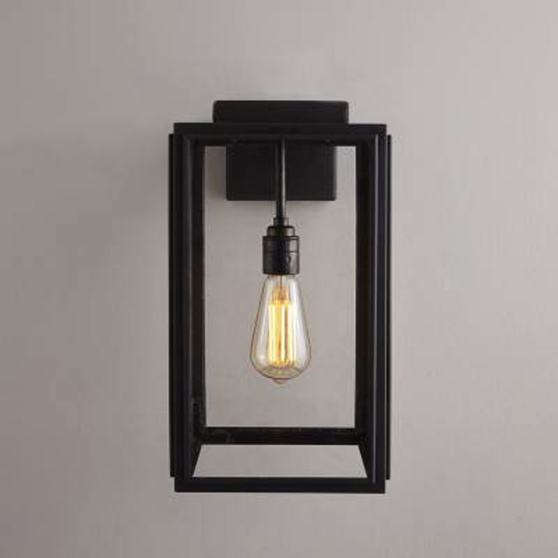 Davey Lighting Portico Small Wall Light Weathered Brass C