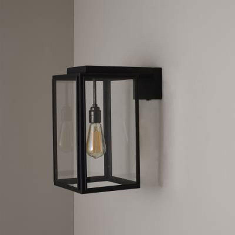 Davey Lighting Portico Small Wall Light Weathered Brass E