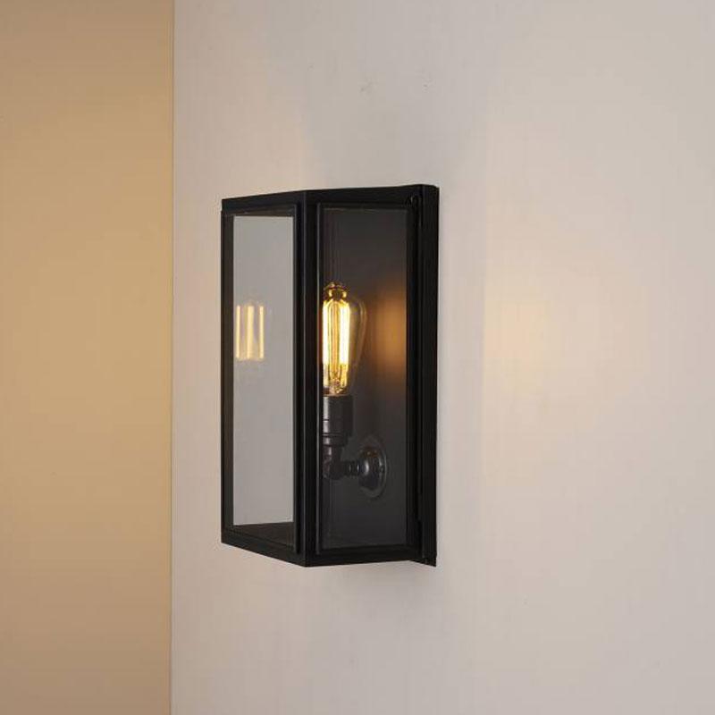 Box Medium External Glass Small Wall Light Buy Online