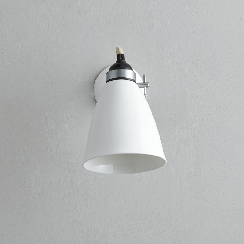 Original Btc Hector Medium Dome Wall Light White C Off