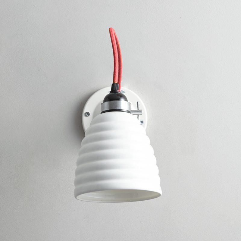 Original Btc Hector Bibendum Switched Wall Light Red B Off