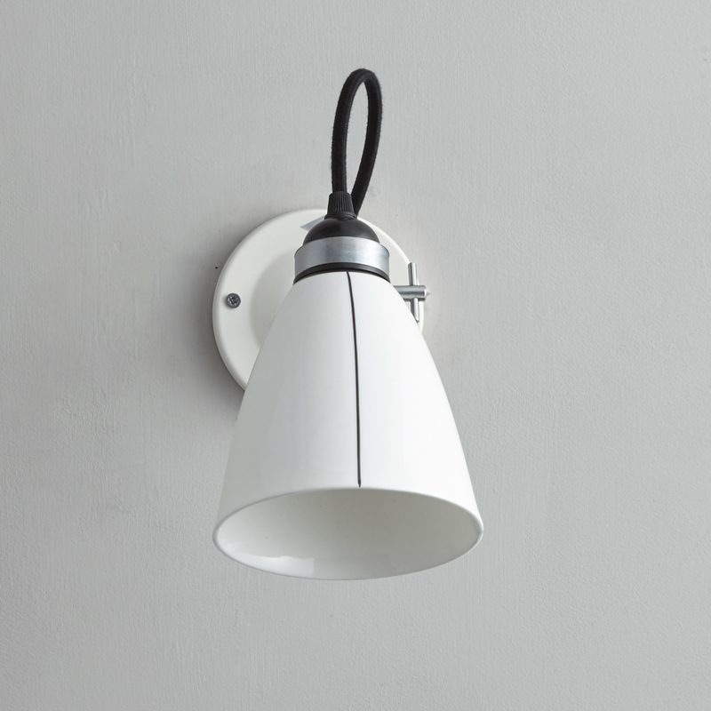 Original Btc Linear Switched Wall Light Black And White B Off