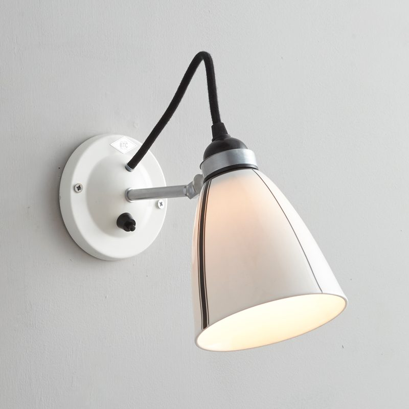 Original Btc Linear Switched Wall Light Black And White On