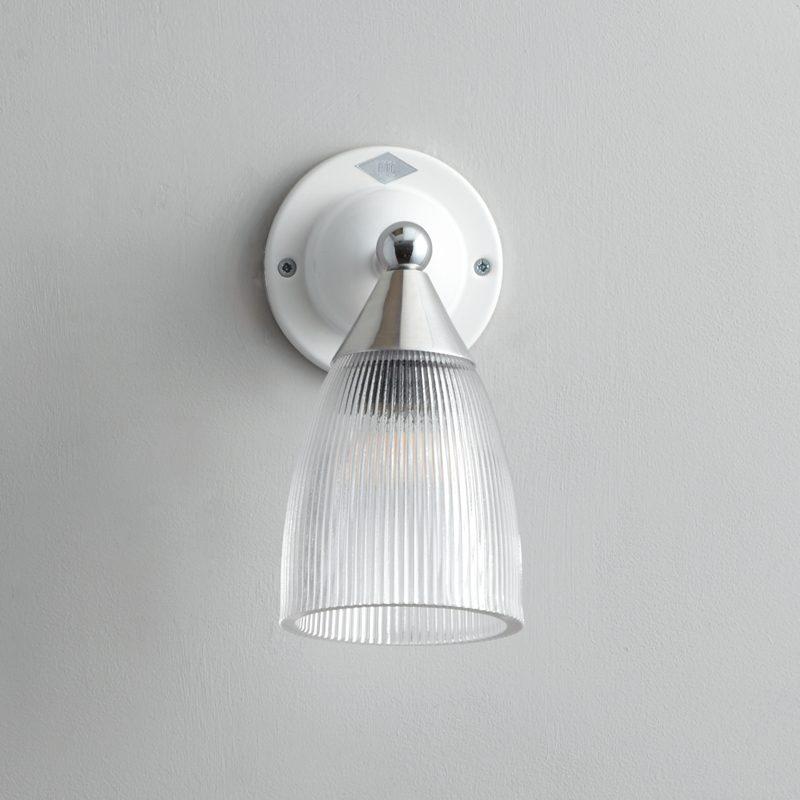 Original Btc Mann Prismatic Wall Light White B Off