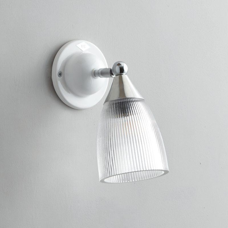 Original Btc Mann Prismatic Wall Light White Off