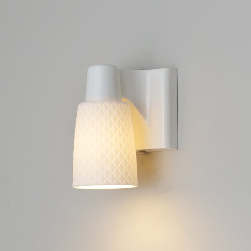 Original Btc Oxford 1 Wall Light Natural White On