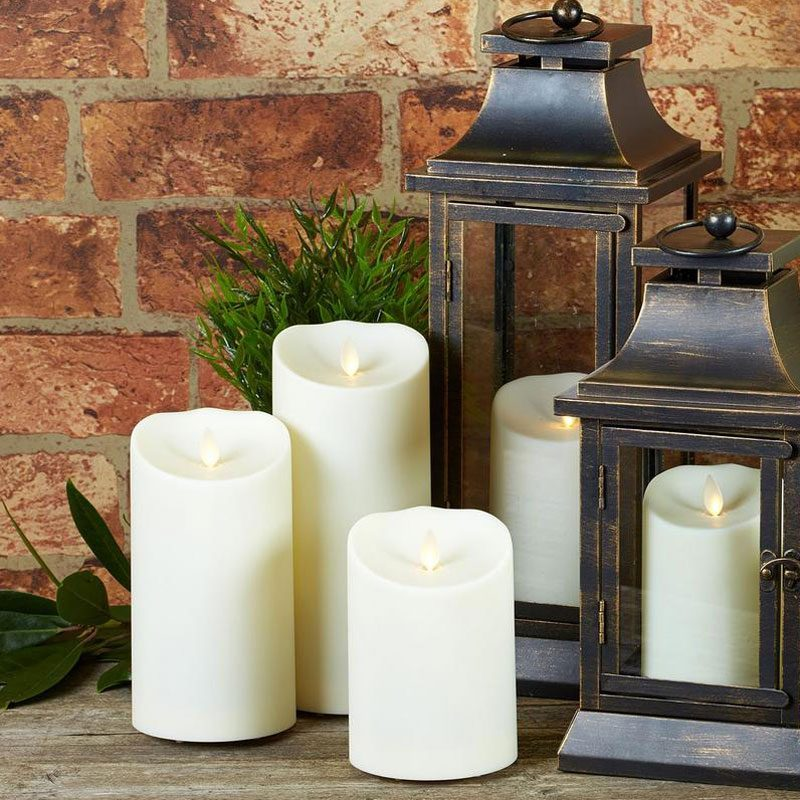 Luminara Weather Resistant Pillar Candle B