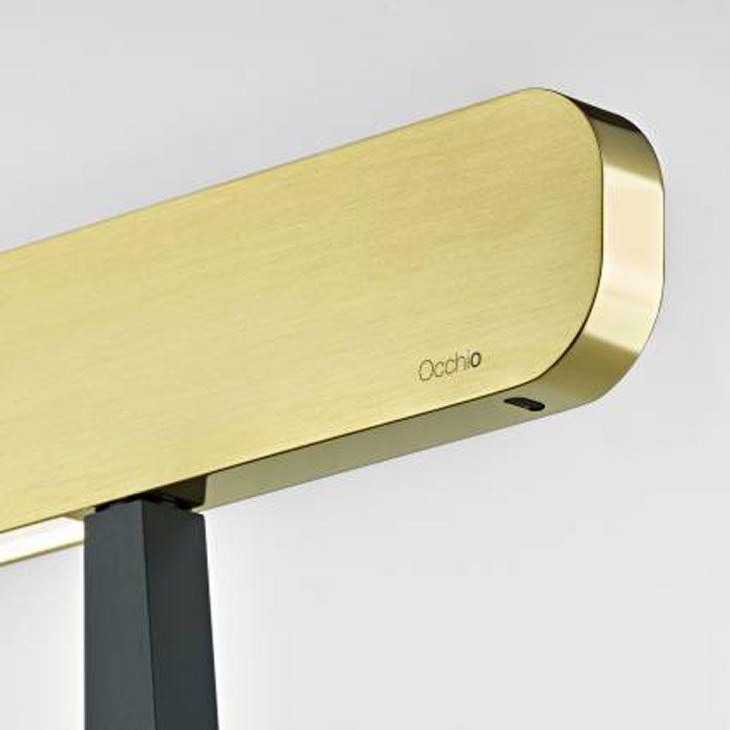Occhio Mito Terra Floor Lamp Black Bronze D