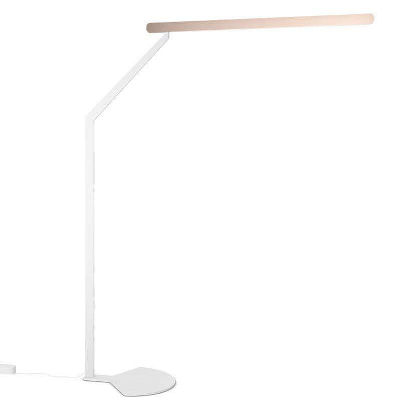 Occhio Mito Terra 3d Floor Lamp White Matt Gold