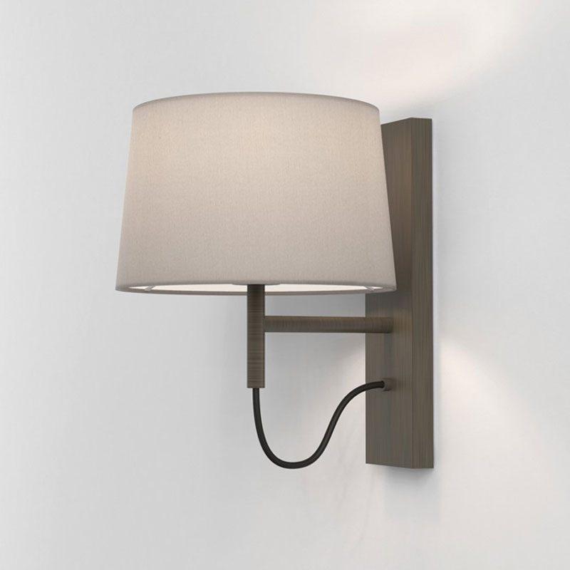 Astro Telegraph Swing Wall Light Bronze1