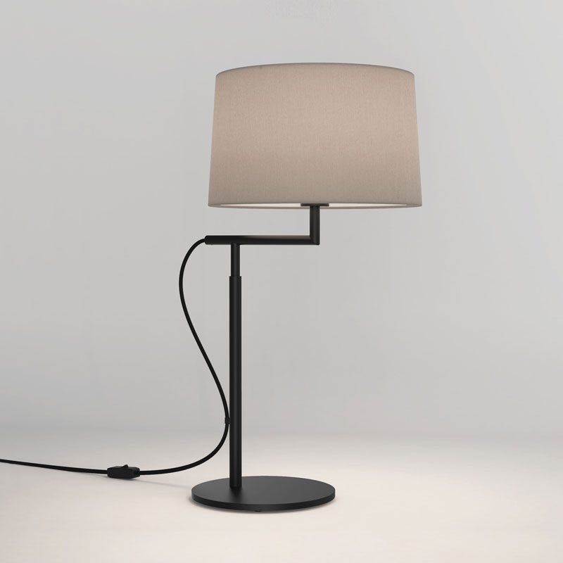 Astro Telegraph Table Lamp Black