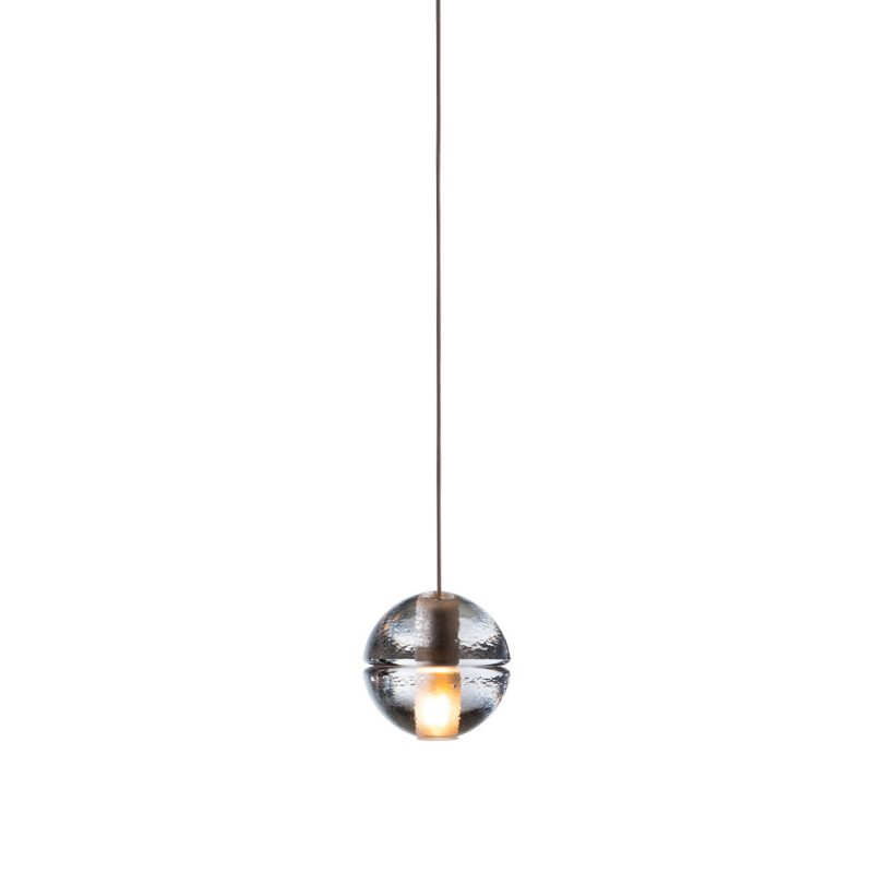 Bocci 14.1 Shallow Canopy Pendant Light Clear
