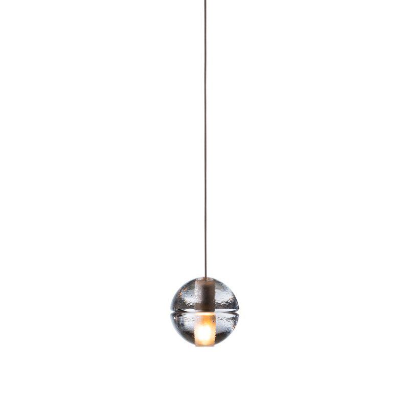 Bocci 14.1 Shallow Canopy Pendant Light Clear