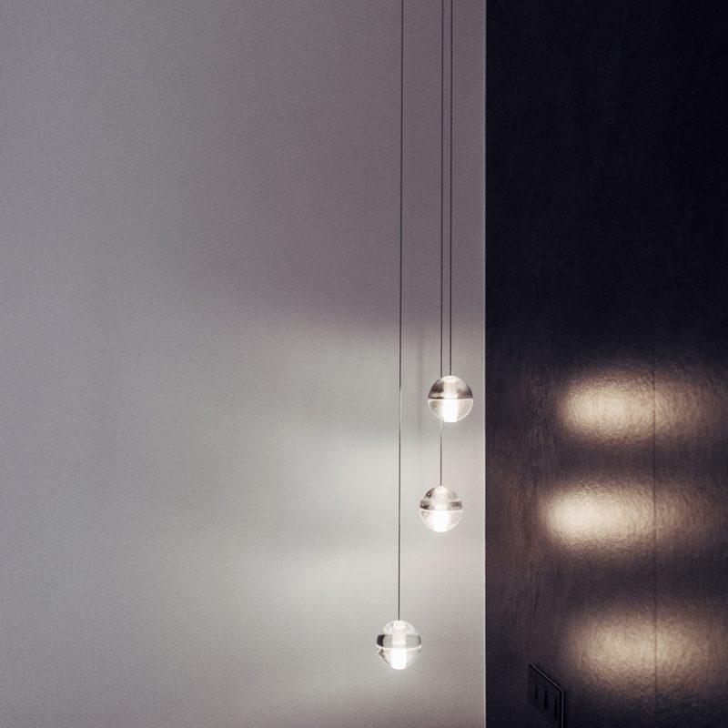 Bocci 14.3 Glass Pendant Light Clear D