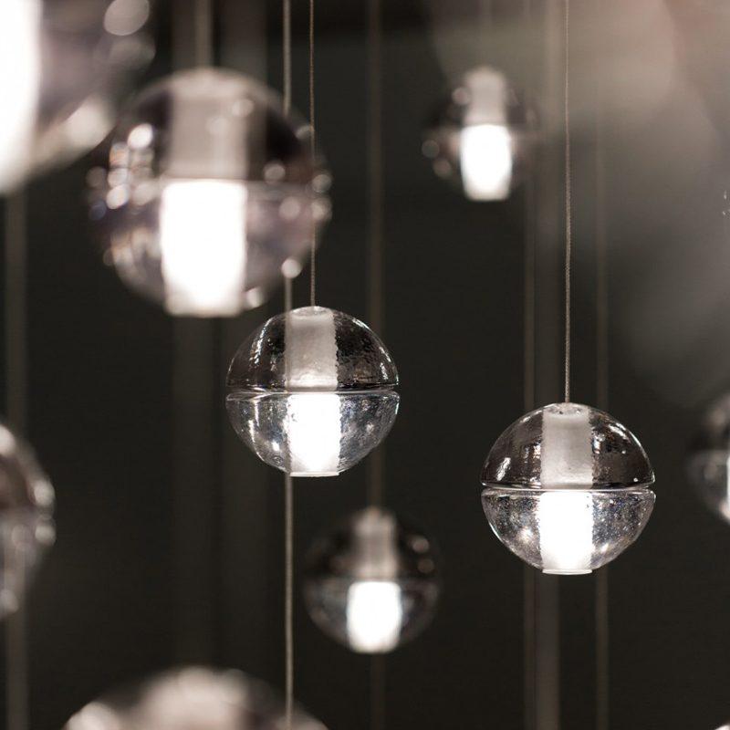Bocci 14.5 Glass Pendant Light Clear B