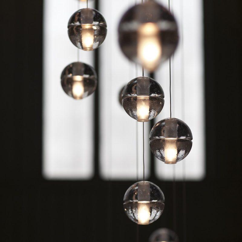 Bocci 14.7 Glass Pendant Light Clear C
