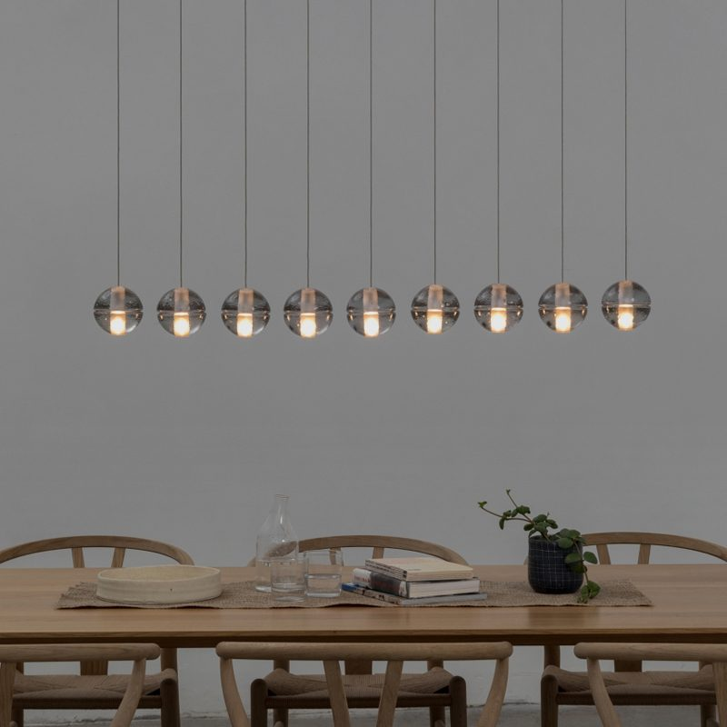 Bocci 14.9 Glass Pendant Light Clear C