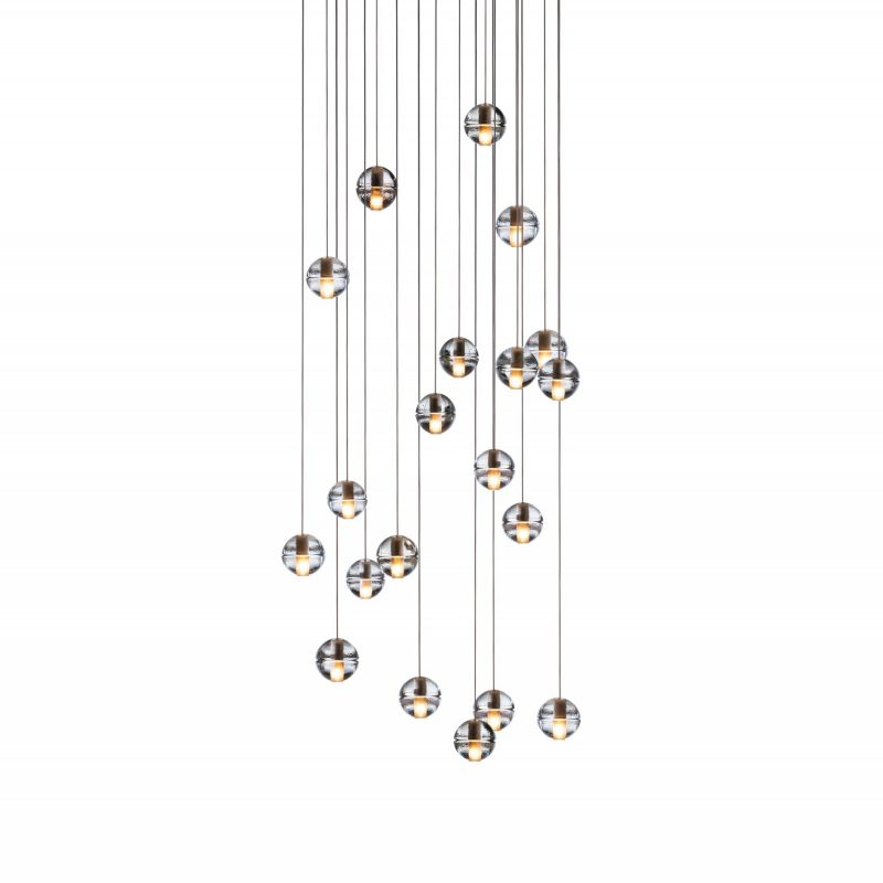 Bocci 14.20 Glass Pendant Light Clear