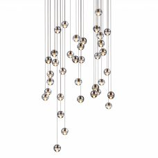 Bocci 14.36 Round Glass Pendant Light Clear