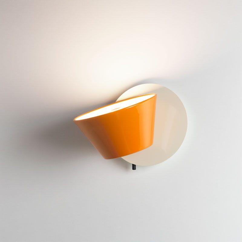 Marset Tam Tam A Wall Light Orange B