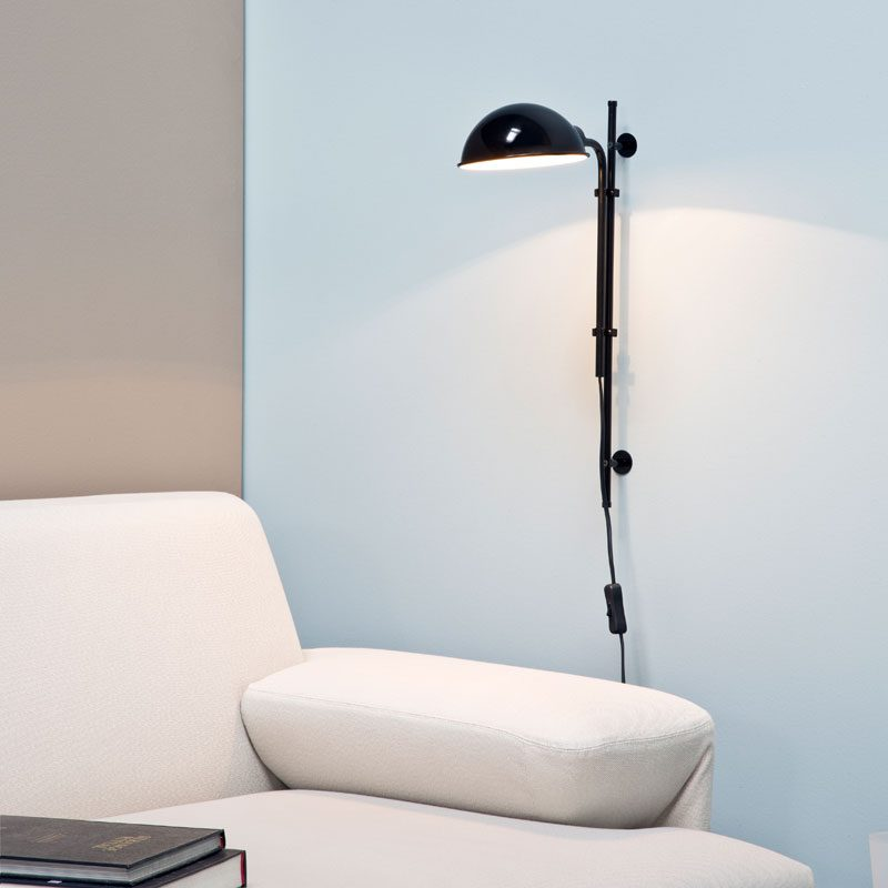 Marset Funiculí Wall Light Black B